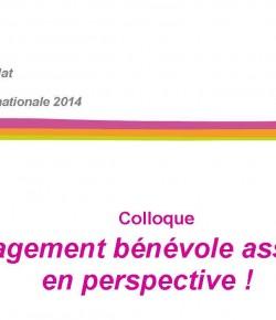 » L'engagement bénévole associatif en perspective ! » – France Bénévolat